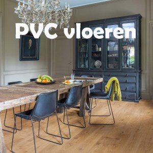 PVC vloeren! ruime keuze in onze showroom
